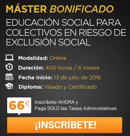 Educación Social para Colectivos en Riesgo de Exclusión