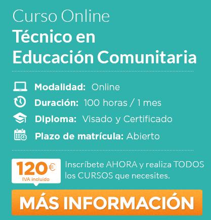 Curso Técnico en Educación Comunitaria