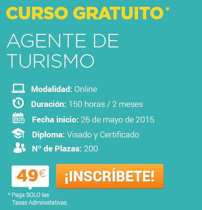 Agente de turismo curso