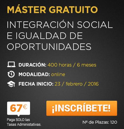 Integración Social e Igualdad de Oportunidades