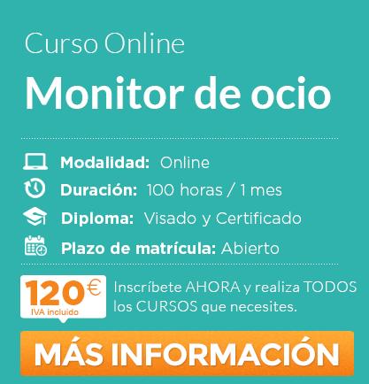 """Curso """"Monitor de Ocio"""" online"""