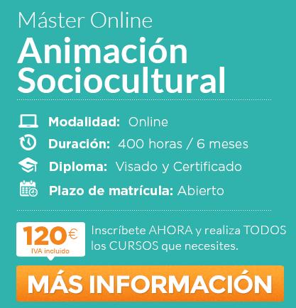 """Máster en """"Animación Sociocultural"""" online"""