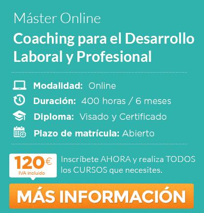 """Máster en """"Coaching para el Desarrollo Laboral y Profesional"""" online"""