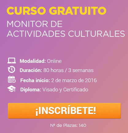 Monitor de Actividades Culturales