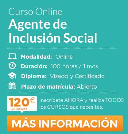 """Curso de """"Agente de Inclusión Social"""" online"""