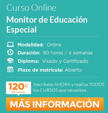 """Curso de """"Monitor de Educación Especial"""" online"""