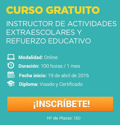Instructor de Actividades Extraescolares y Refuerzo Educativo