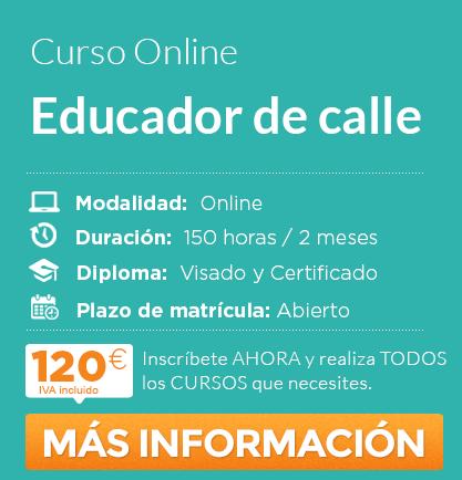 """Curso de """"Educador de Calle"""" online"""