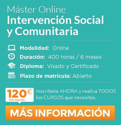 Máster en Intervencion Social y Comunitaria online