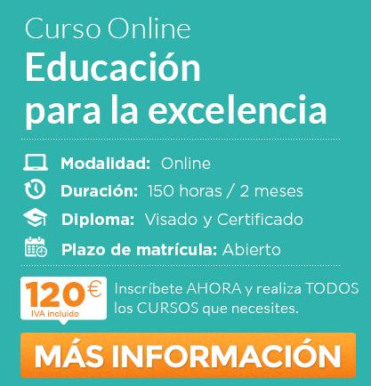 """Curso de """"Educación para la excelencia"""" online"""