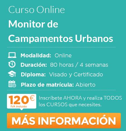 Curso de Monitor de Campamentos Urbanos online