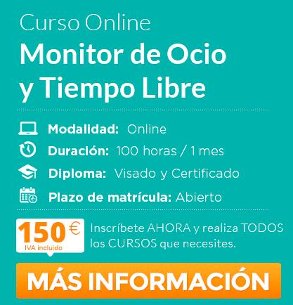 Curso Online De Monitor De Ocio Y Tiempo Libre Divulgacion