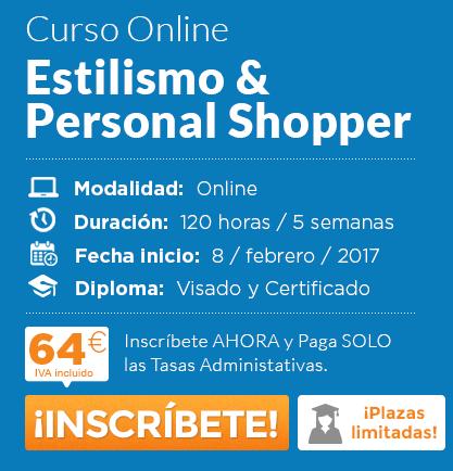Solicita información del curso de Estilismo y Personal Shopper