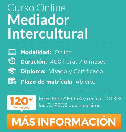 """Curso de """"Mediador Intercultural"""" online"""