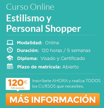 """Curso de """"Estilismo y Personal Shopper"""" online"""