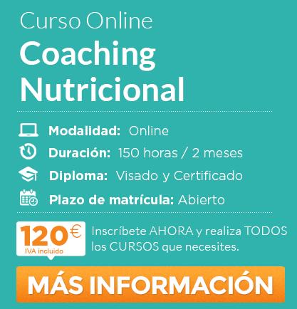 "Curso de ""Coaching Nutricional"" online"