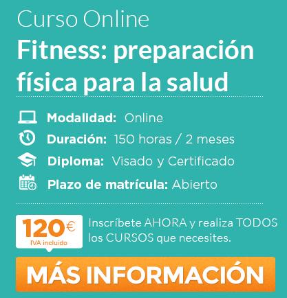 """Curso de """"Fitness: preparación física para la salud"""" online"""