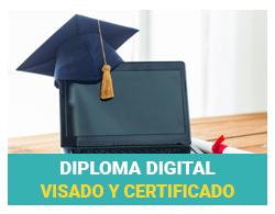 Diploma Digital Visado y Certificado