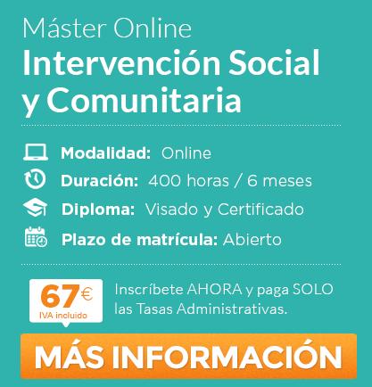Máster en Intervención Social y Comunitaria online