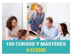 100 cursos y Másteres a elegir
